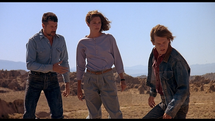 TERMORS (1991 / DCP) - Fri Jan 18th 2pm, 4pm, 6pm & 8pm / The Frida Cinema, Santa Ana CAWould you have guessed that this is one of the longest ongoing movie franchises out there? Varying in quality (it's been straight to video fare since part 2), the original TREMORS is a simple yet sharp thriller with just the right amount of humor and cleverness in execution that it satisfies like a home cooked meal. Concerning a small town in the middle of nowhere USA, two friends decide to hit the road, but not before the discovery of right some 30 foot long man eating worms determined to suck their human prey underground! It's a perfect 50s monster movie salute. Oh, and you get some Kevin Bacon too.More info HERE