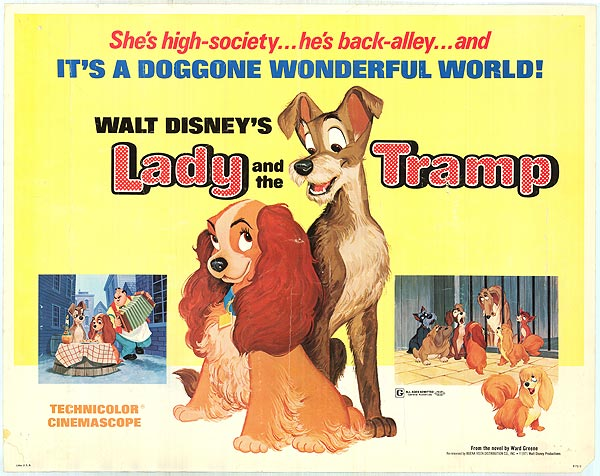 LADY AND THE TRAMP (1953 / 35mm Print) - Sat Jan 19th 12:40pm / Prince Charles Cinema, London UKDisney animated classics are a rarity in 35mm, and if one pops up, you owe it to yourself to see it. There's something about the era of paint on 2D animation cels, especially in the Technicolor era, that translates so beautifully to 35mm in a way that digital renders as too clinically pristine. This Saturday, London's Prince Charles Cinema has their hands on the romantic tale of Lady And The Tramp. No details as yet if there's an interactive spaghetti sharing moment at this screening. Hopefully not!More info HERE
