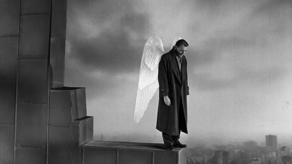 WINGS OF DESIRE (1987 / 4K DCP) - Fri Jan 25th 7:30pm / Aero Theatre, Santa Monica CANew 4K Restoration. Wim Wenders sumptuous black and white fantasy of guardian angels that navigate the city of Berlin, which was still divided at the time. Keeping watch over human beings, one angel desires to become mortal after falling in love.More info HERE