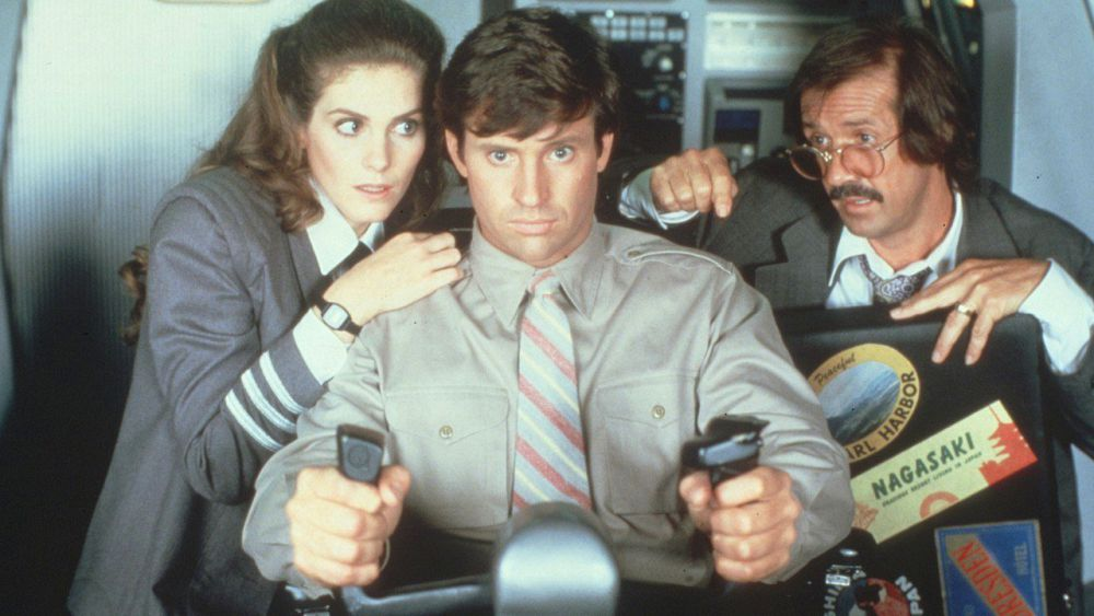 AIRPLANE II: THE SEQUEL (1982 / DCP) - Sat Jan 26th 11:30am Matinee / North Park Theatre, Buffalo NYFree tix to TSA Workers! A faulty computer causes a passenger space shuttle to head straight for the Sun. Can Ted Striker save the day and get the shuttle back on track - again? Like its predecessor, this wildly hilarious disaster movie spoof, is like a Mad Magazine parody come to life, full of goofy sight gags and perfect deadpan delivery. The North Park Theatre will offer this screening for free to TSA workers affected by the Government ShutdownMore info HERE