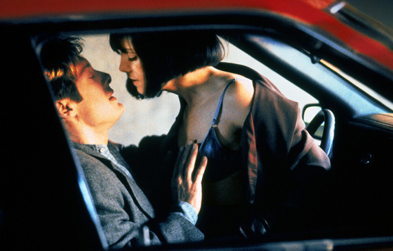CRASH (1996 / 35mm Print) - Fri Feb 8th & Sat Feb 9th / Nitehawk Cinema, Brooklyn NYAs well as The Metrograph, David Cronenberg's divisive feature of merging lust with car wrecks also screens at the Nitehawk this weekend, but in 35mm Print formatMore info HERE