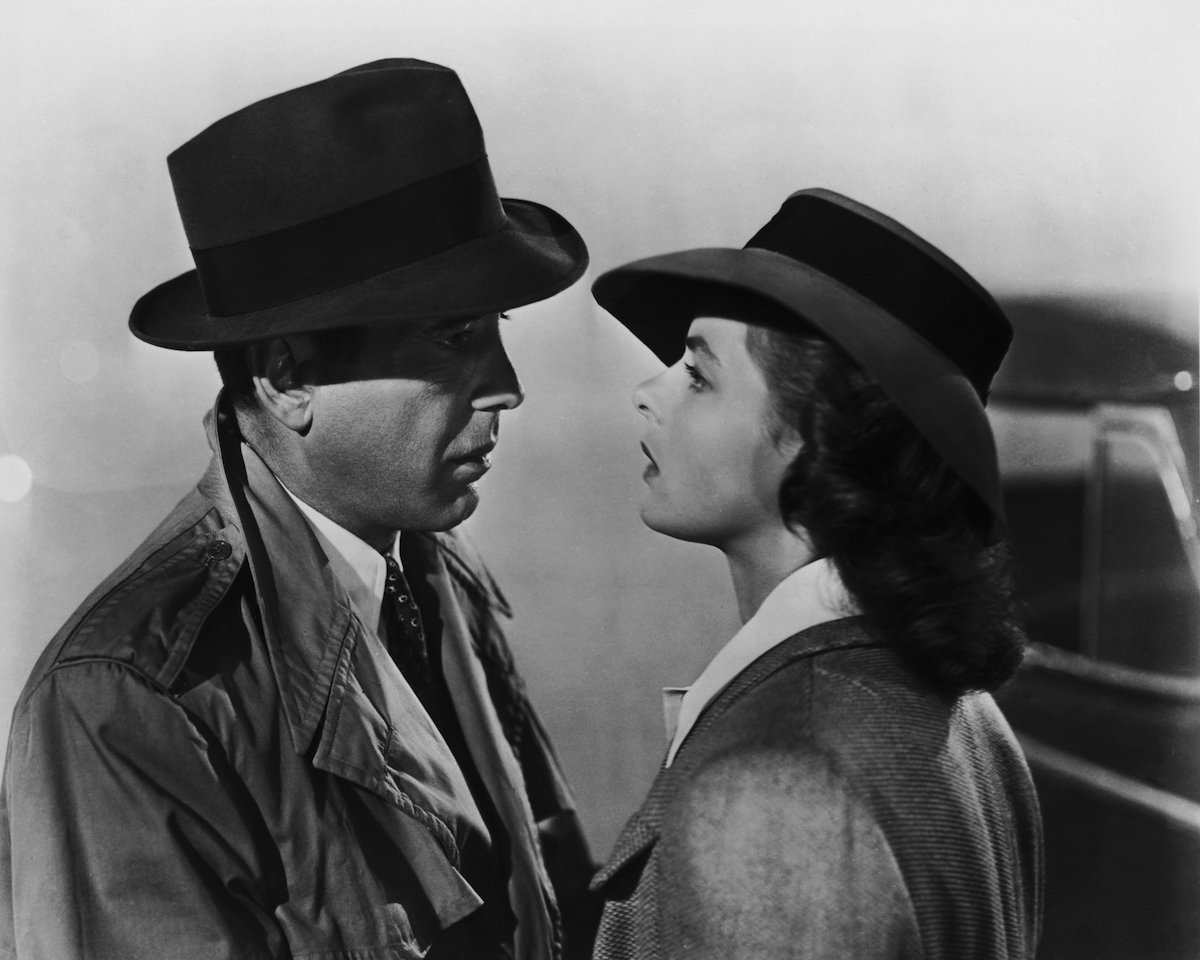 CASABLANCA (1942 / DCP) - Thurs Feb 14th 7:30pm / Aero Theatre, Santa Monica CATough guy Humphrey Bogart is Rick, an expatriate club owner in CASABLANCA, nursing a broken heart after his sweetheart (Ingrid Bergman) disappeared when the Nazis invaded. When she re-enters his life with her resistance-leader husband, sparks fly.More info HERE