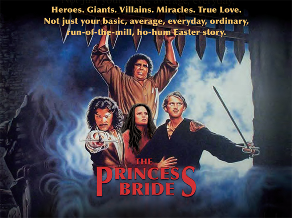 THE PRINCESS BRIDE (1987 / DCP) - hurs Feb 14th 10pm / Brattle Theatre, Cambridge MAIn this amazingly entertaining comedic fantasy, we follow the farmboy Westley (Elwes) and his beautiful beloved Buttercup (Wright) as they face the many obstacles to their union – including (but not limited to) dread pirates, evil princes, expert swordsmen, brutish giants, rodents (of unusual size), expert torturers, and political intrigue.More info HERE