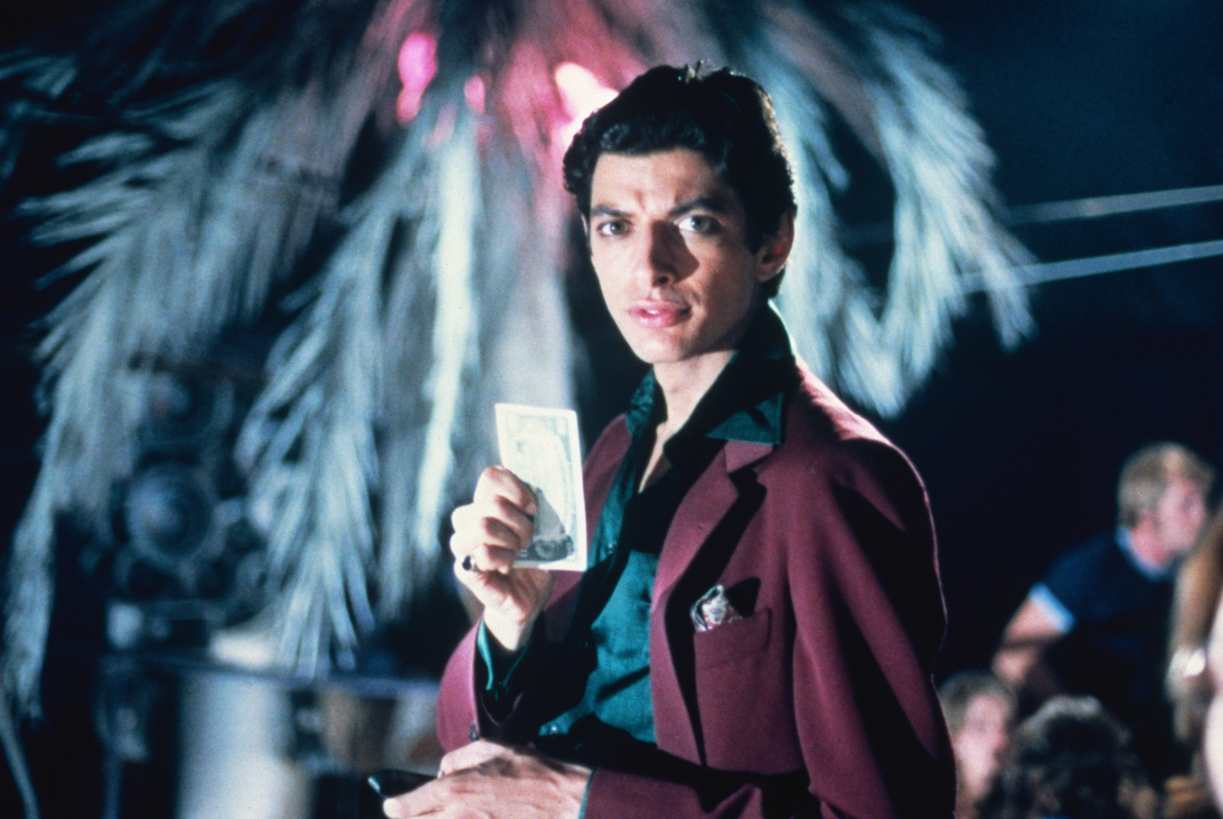 """THANK GOD IT'S FRIDAY (1978 / 35mm Print) - Fri Feb 15th 6:45pm / Quad Cinema, New York CityDisco fever affords Jeff Goldblum a player lifestyle as owner of the L.A.'s hottest dance palace, and during one wild Friday night on-site he pursues married Andrea Howard. In the house: Debra Winger, deejay Ray Vitte, Chick Vennera, Terri Nunn (later lead singer of the group Berlin), and Paul Jabara — who won an Oscar for his song """"Last Dance,"""" performed onscreen, indelibly, by Donna Summer; also on the bill are The Commodores, with their tasty jam """"Too Hot ta Trot.""""More info HERE"""