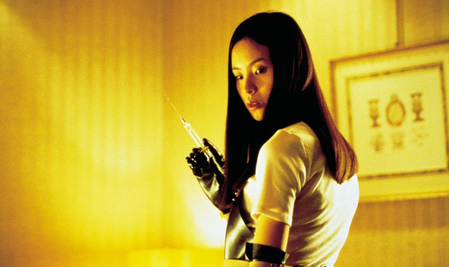 AUDITION (1999 / DCP) - Fri Feb 15th 11pm / Music Box Theatre, Chicago ILAUDITION was the turn-of-the-millenium flash point signaling the talent of Takashi Miike: a film artist twice as prolific as Fassbinder, a provocateur as multifaceted as Von Trier and a genre-bender as bent as David Lynch. Shocking arthouses worldwide with its white-knuckle finale and ingeniously Sirkian slow-burn leadup, AUDITION trailblazed a fresh Asian horror wave across American screens, carefully pulling the audience through a wrenching exploration of deep male fears and the stereotype of submissive Japanese women. New Restoration!More Info HERE