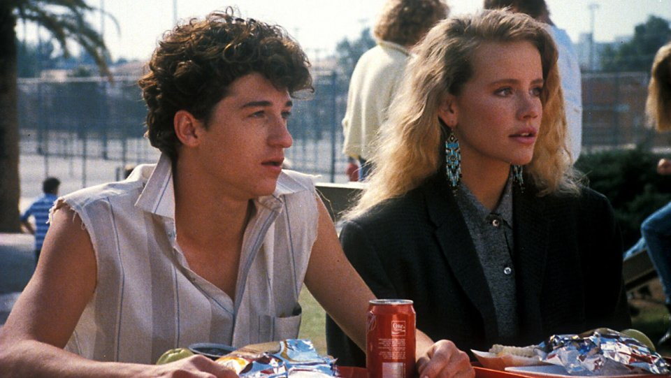 """CAN'T BUY ME LOVE (1987 / 35mm Print) - Sat Feb 16th 10pm / Loft Cinema, Tuscon AZ80s heartthrob Patrick Dempsey stars as Ronald Miller, a high school nerd dying to be one of the cool kids. Ever the enterprising problem-solver, Ronald hits upon the perfect (at least by '80s teen comedy standards) idea: he'll """"rent"""" the most popular girl at Tucson High (and his secret crush), head cheerleader Cindy Mancini (Amanda Peterson), to pretend to be his girlfriend for one month, thereby catapulting him to the pinnacle of popularity as well.More info HERE"""