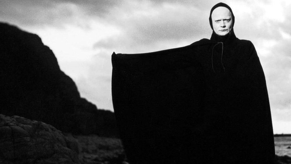 THE SEVENTH SEAL (1957 / DCP) - Sun Feb 17th 3:50pm / Regent Street Cinema, London UKVividly recreating a medieval world tormented by plague and superstition, Bergman's allegorical drama – centred on a knight (Max von Sydow), returned from the Crusades, who challenges Death to a game of chess in order to postpone his demise – remains fascinating (and finally rather touching) as a study of faith in crisis. Packed with powerful images, it punctuates its bleakness with moments of pleasingly pawky humour.More info HERE