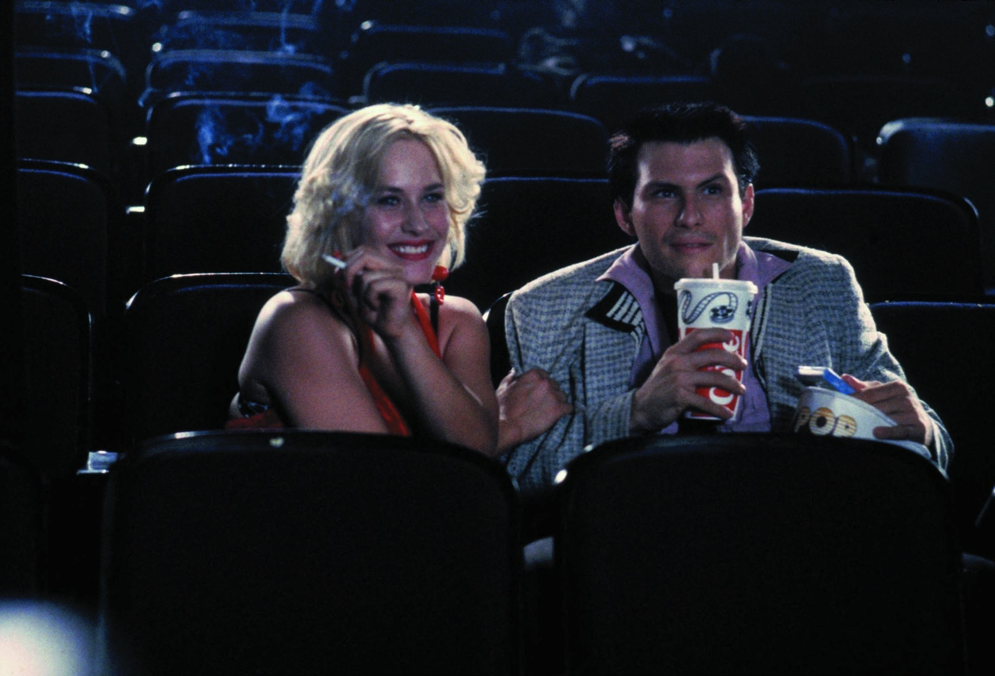 TRUE ROMANCE (1993 / 35mm Print) - Sun Feb 17th 6pm / Prince Charles Cinema, London UKA comic-book nerd and Elvis fanatic Clarence (Christian Slater) and a prostitute named Alabama (Patricia Arquette) fall in love. Clarence breaks the news to her pimp and ends up killing him. He grabs a suitcase of cocaine on his way out thinking it is Alabama's clothing. The two hit the road for California hoping to sell the cocaine, but the mob is soon after them. Pure edgy early 90s cinema. Written by Quentin Tarantino and Directed by Tony Scott.More info HERE