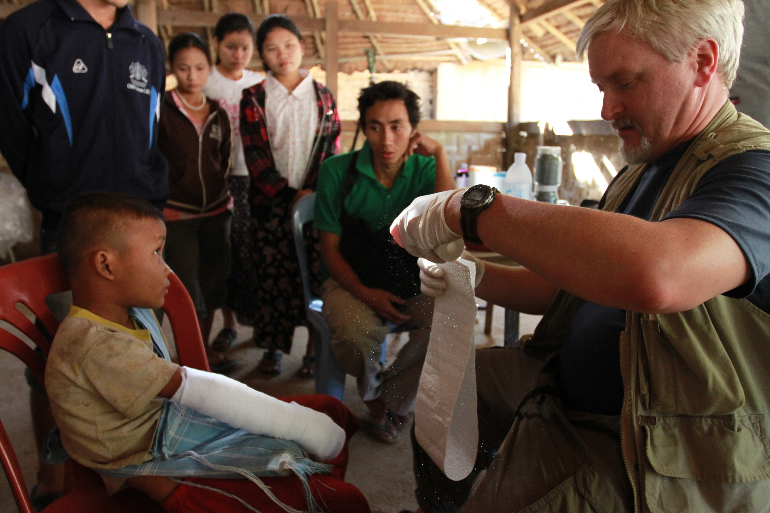 Brad Robertson, PA-C, Thai/Burma border 2011