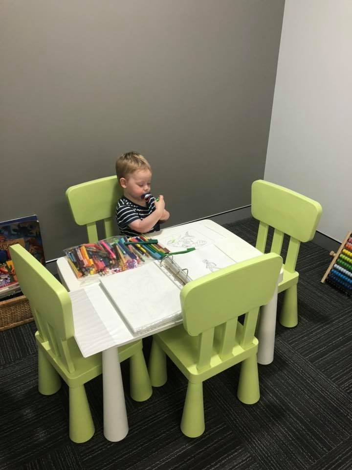 We have been able to purchase and set up the waiting room area at WISE Specialist Emergency Clinic with toys, table, chairs, bookshelf, books and playpen. This cannot be done without the incredible support we have received through fundraising.