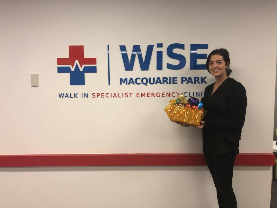 We couldn't forget the nurses this year in all our hospitals, so we delivered huge baskets of Easter Eggs and Easter Craft for the Children who were in hospital over the Easter long weekend.