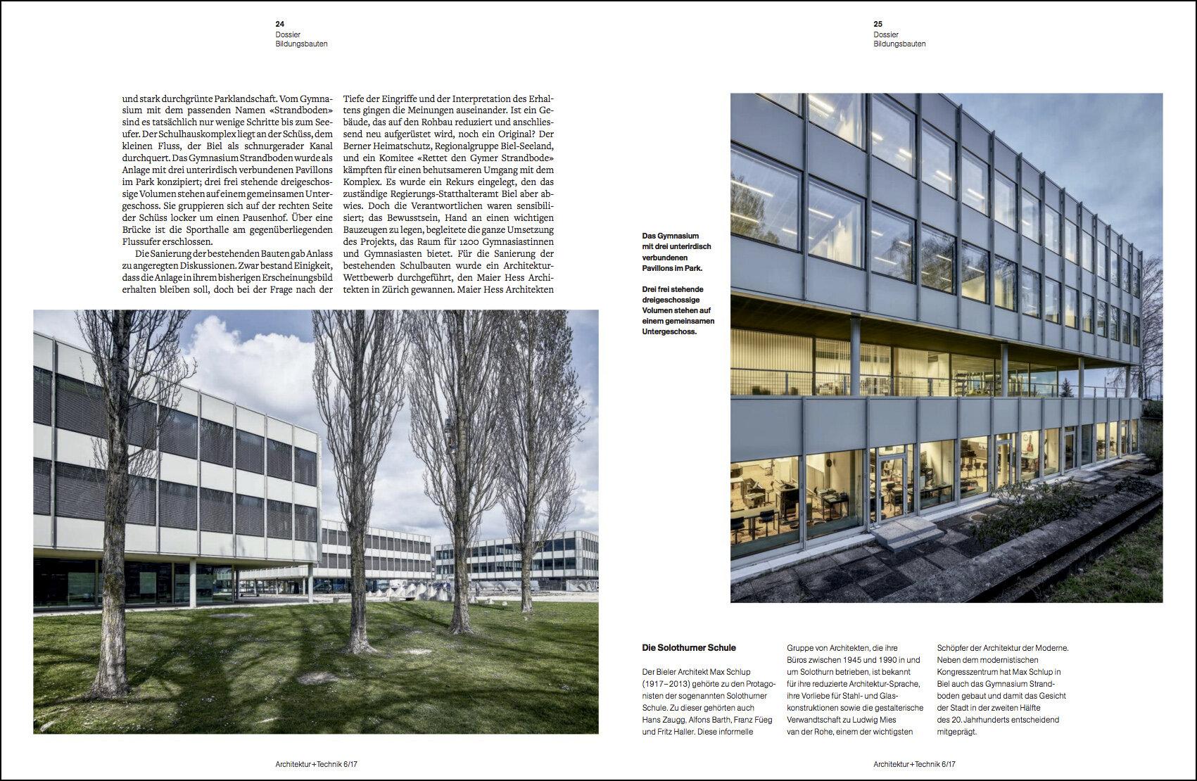 Architektur und Technik Magazin