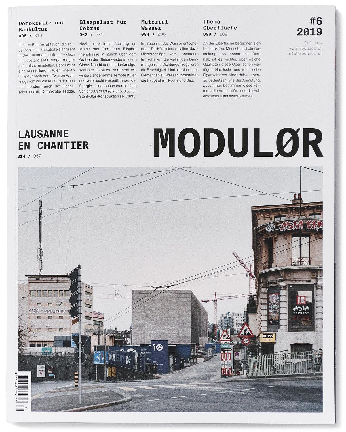 Modulor Magazin