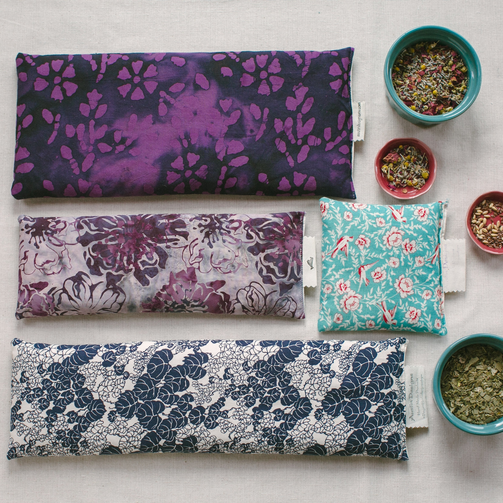 HEAT PACKS & EYE PILLOWS -