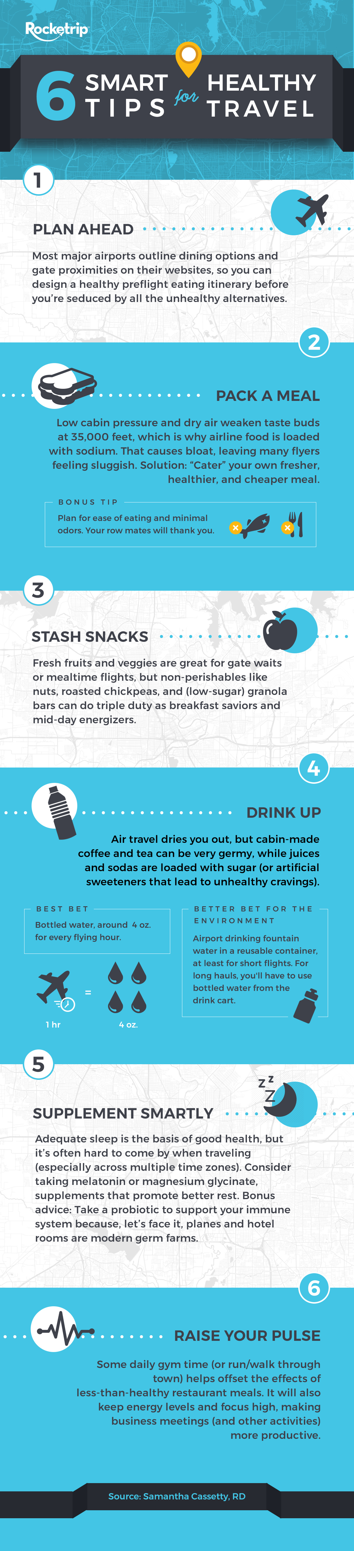 Smart Healthy Travel Tips