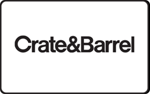 Crate&Barrel   $25 - 250 Points  $50 - 500 Points  $100 - 1,000 Points  $250 - 2,500 Points  $500 - 5,000 Points