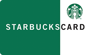 Starbucks   $5 - 50 Points  $10 - 100 Points  $25 - 250 Points  $50 - 500 Points  $100 - 1,000 Points  $250 - 2,500 Points  $500 - 5,000 Points