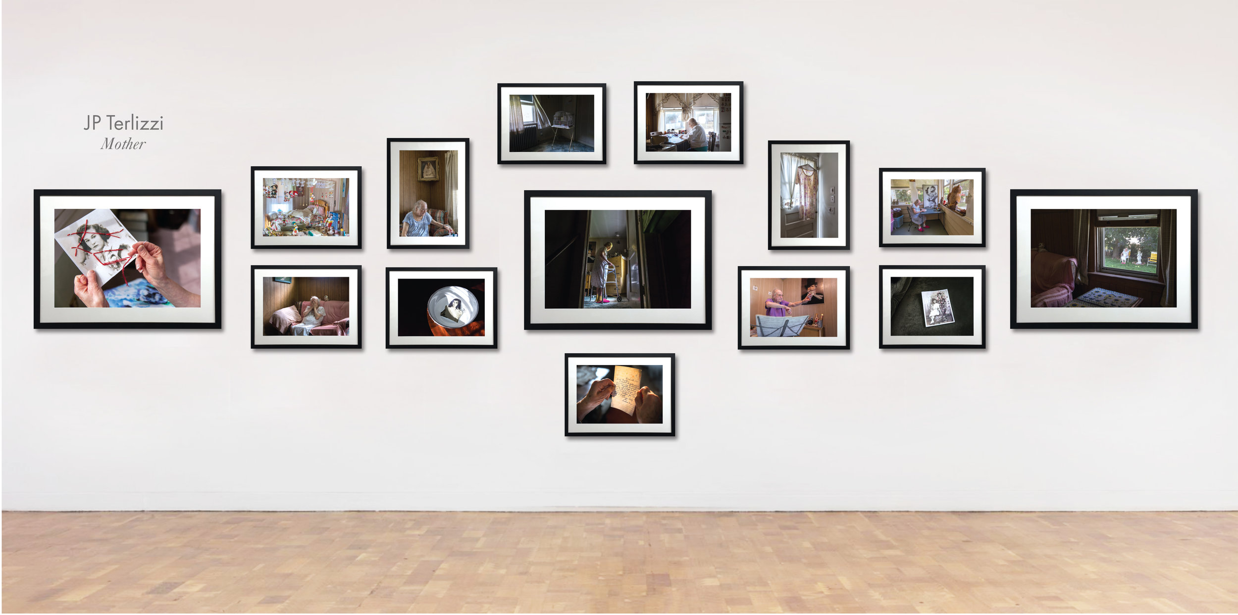 Exhibition Details:  Chromogenic prints matted and framed in black wood, 38 x 28 inches, 23 x 17 inches