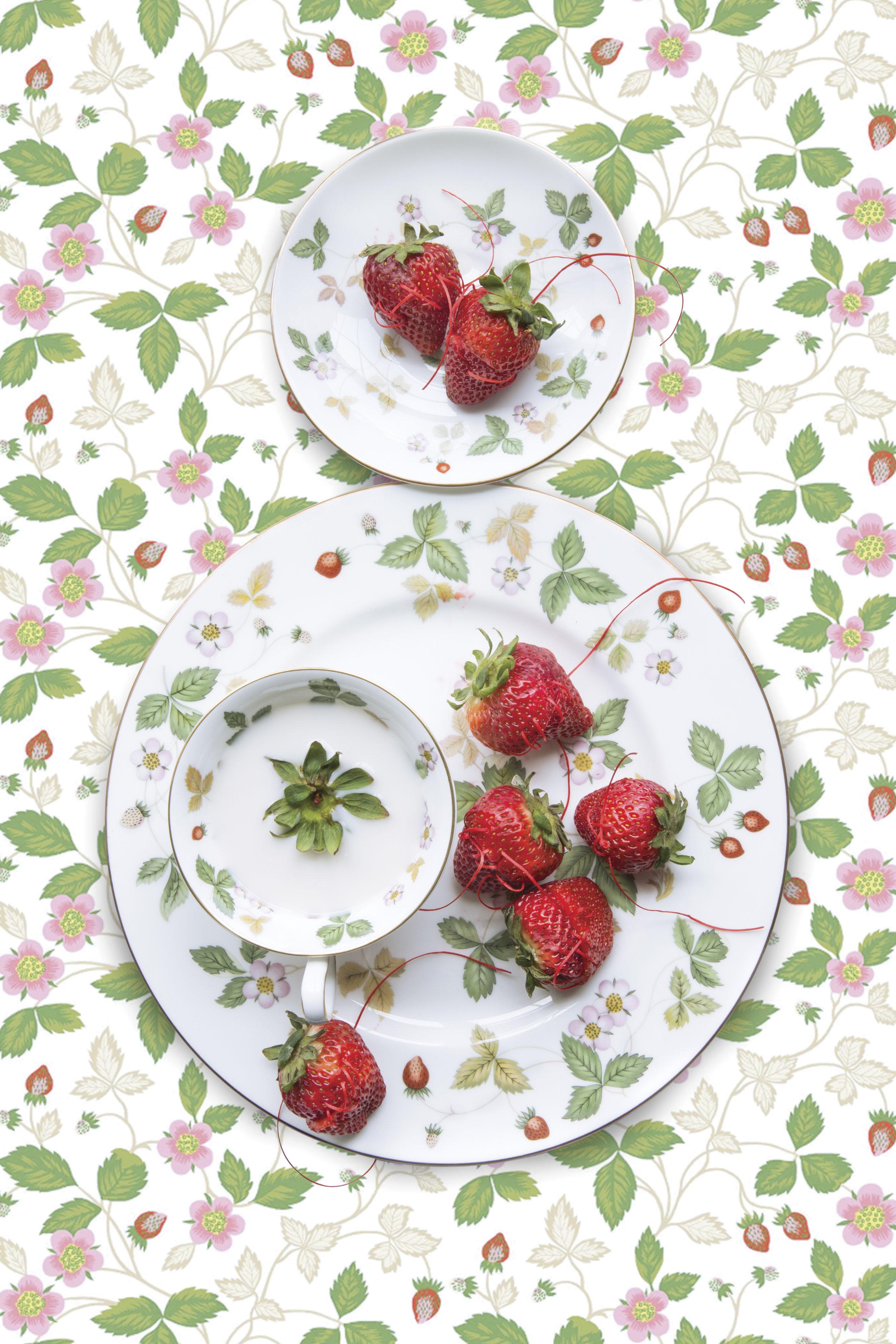 Wedgwood Wild Strawberry with Strawberry, 2019