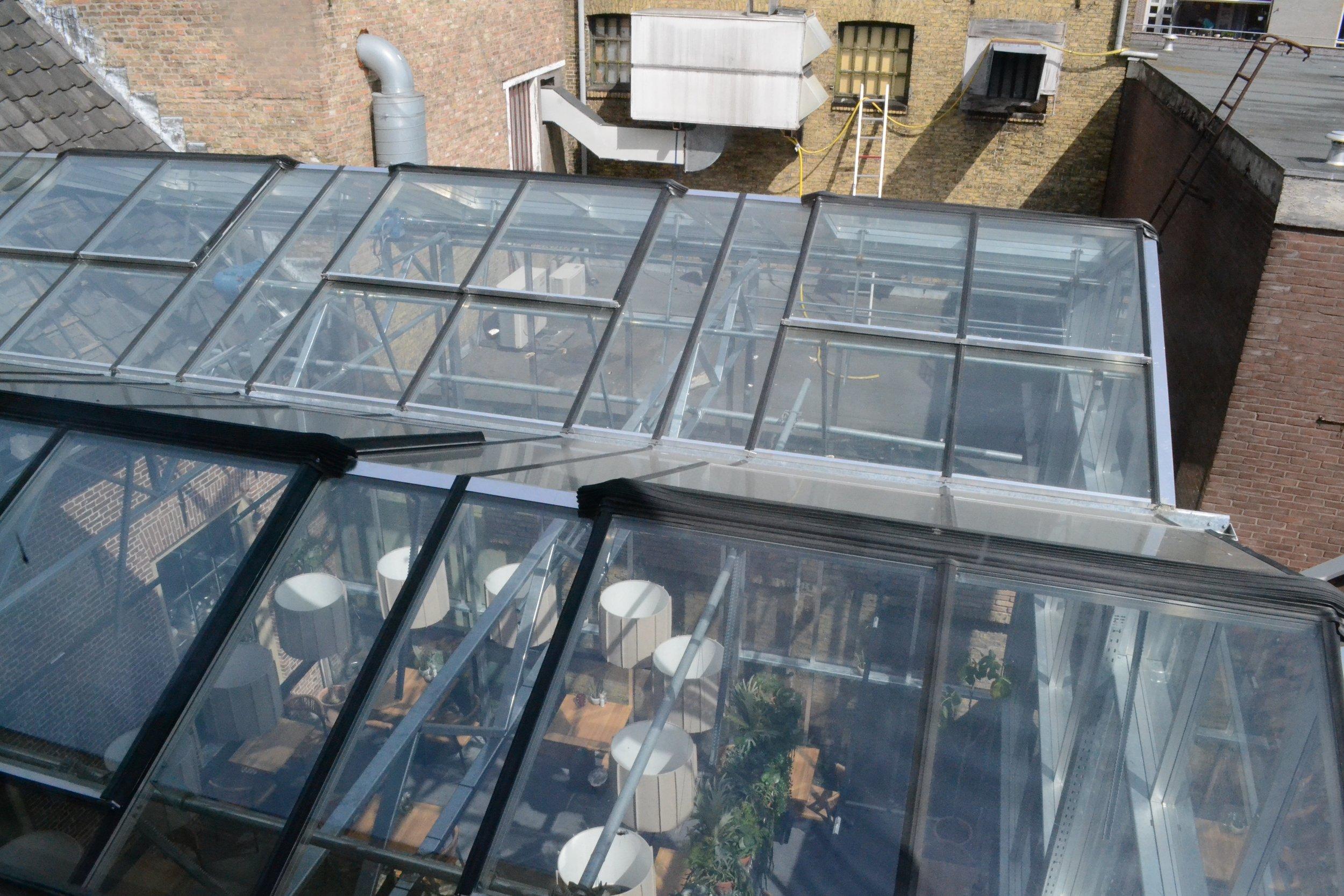 Kat Koree Architecten proeflokaal het gerechtshof sneek nieuwbouw kas
