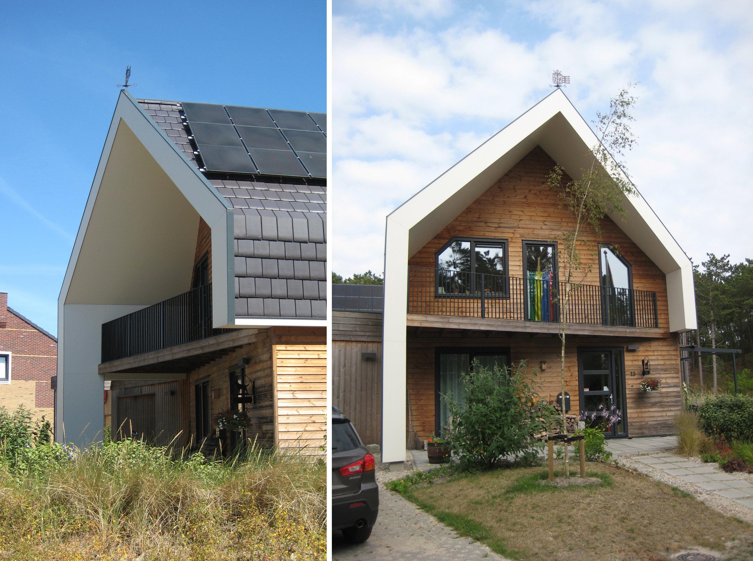 Kat Koree Architecten Woningbouw particulier Steven Wiegmanlaan 1 West Terschelling burgemeester nieuwbouw woonhuis