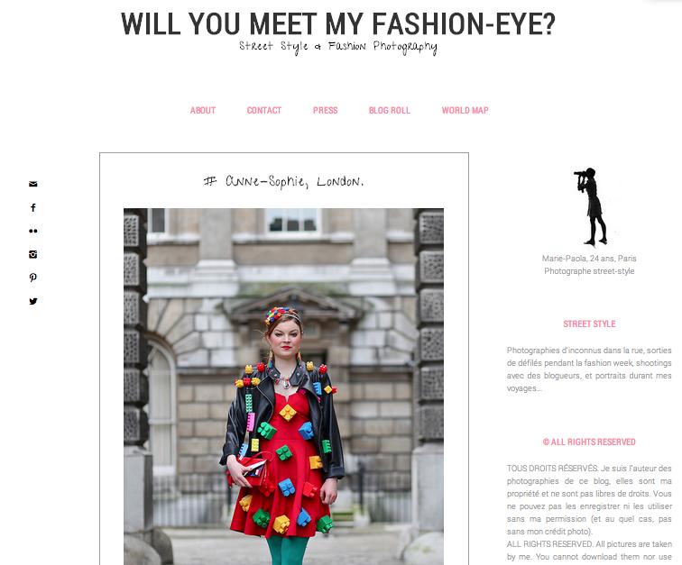 Will you meet my Fashion eye, May 2014