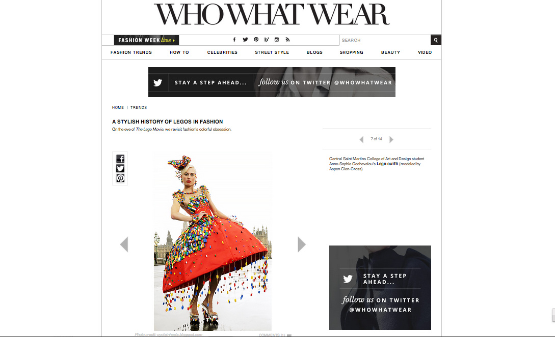 Who, What, Wear, march 2014