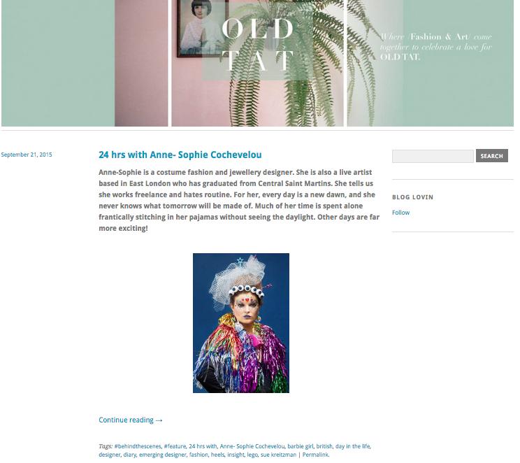 Old Tat blog, September 2015, UK