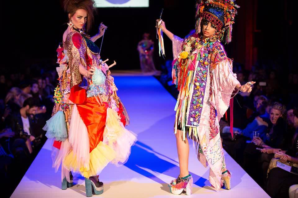 Brighton Fashion Week performative catwalk