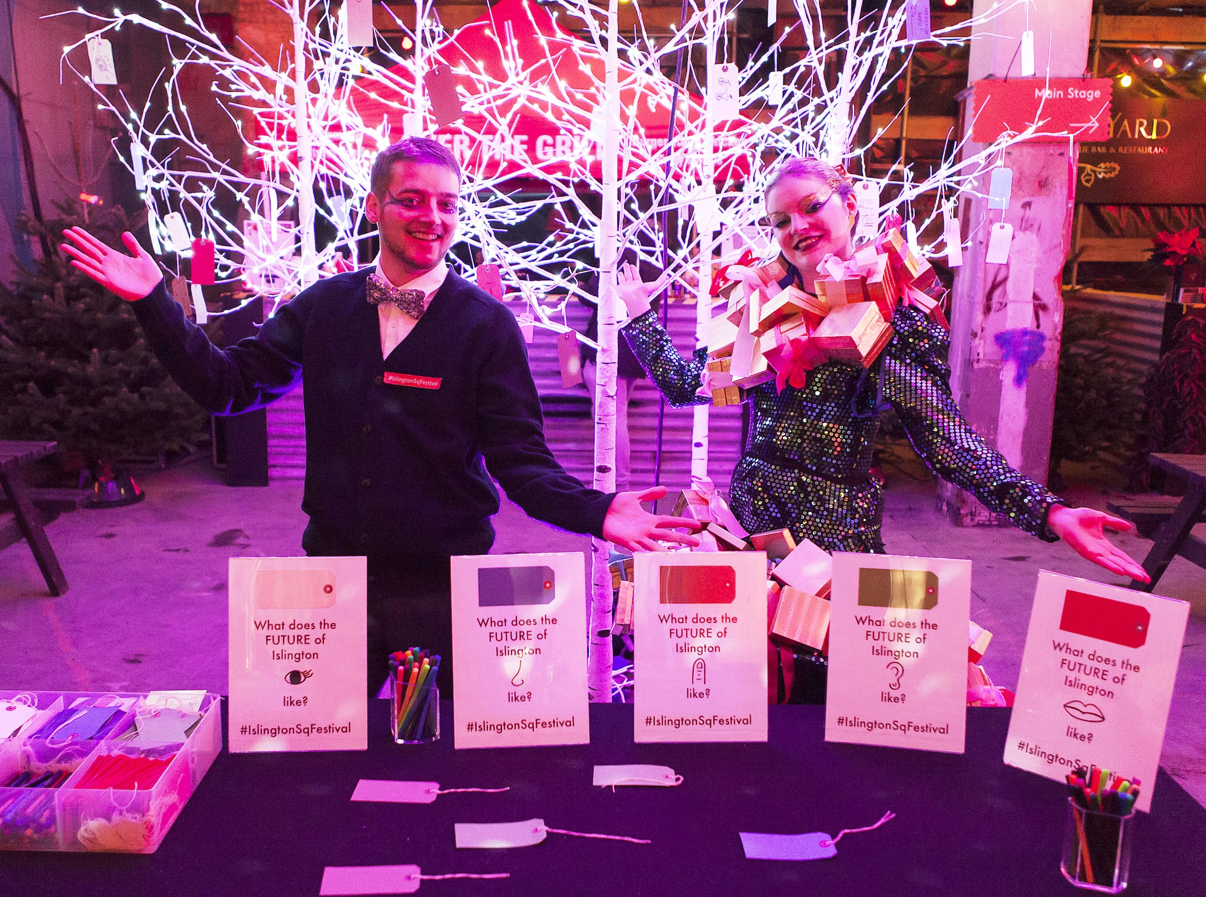 Islington square Festival of Culture with Future Us