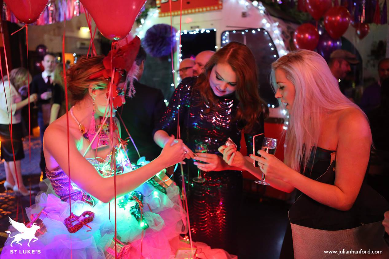 interactive presents dress - advert agency party
