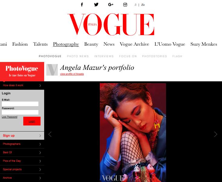 Vogue Italia, May 2016