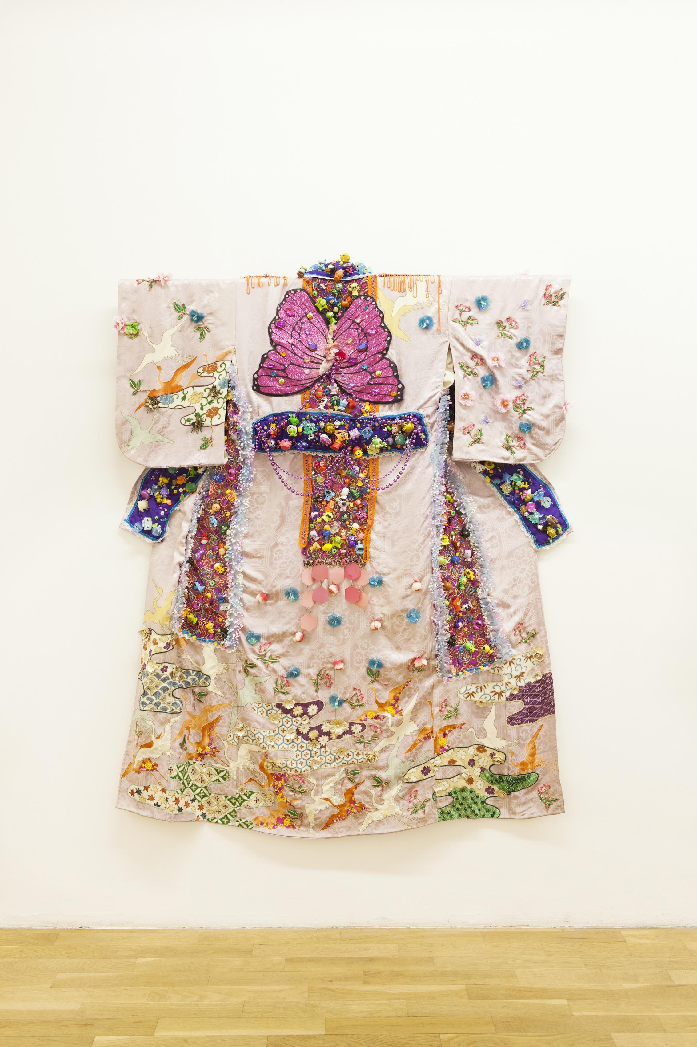 wearable art kimono