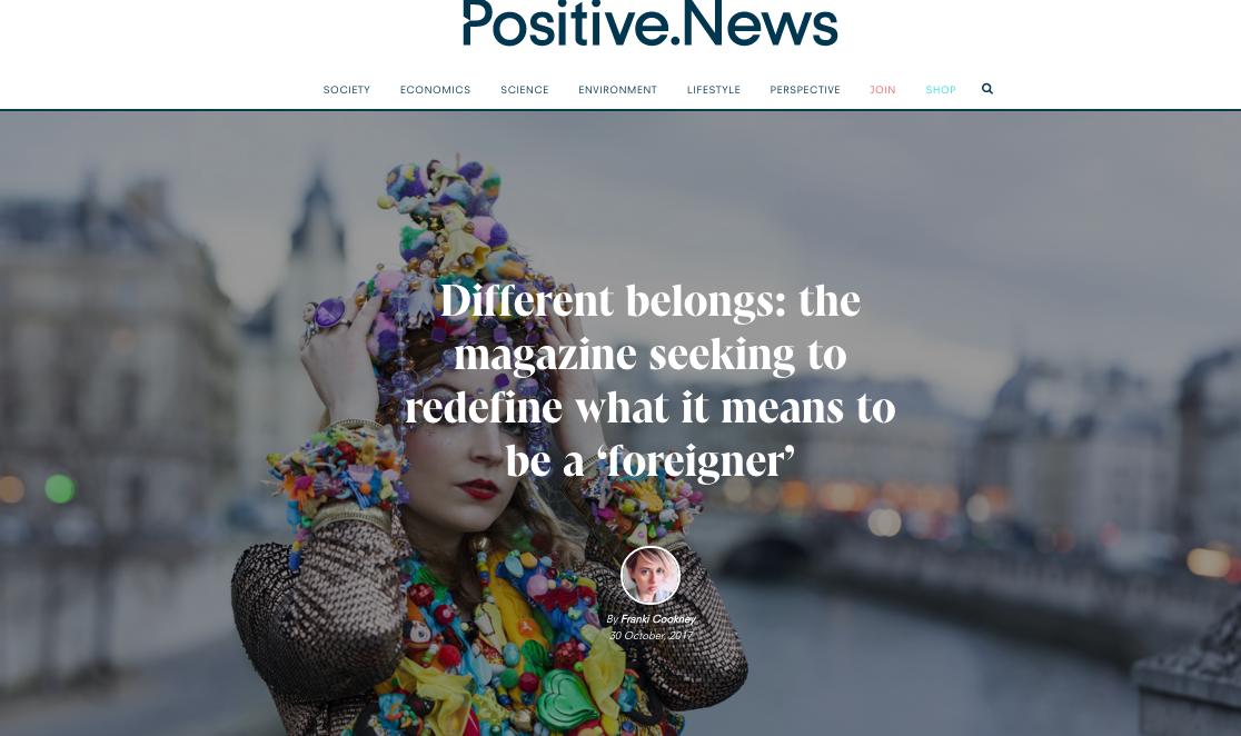 Positive News- november 2017