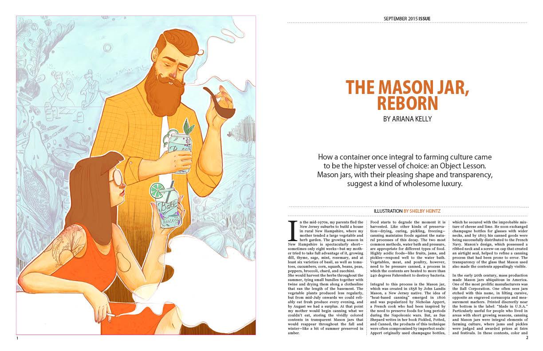 THE MASON JAR, REBORN