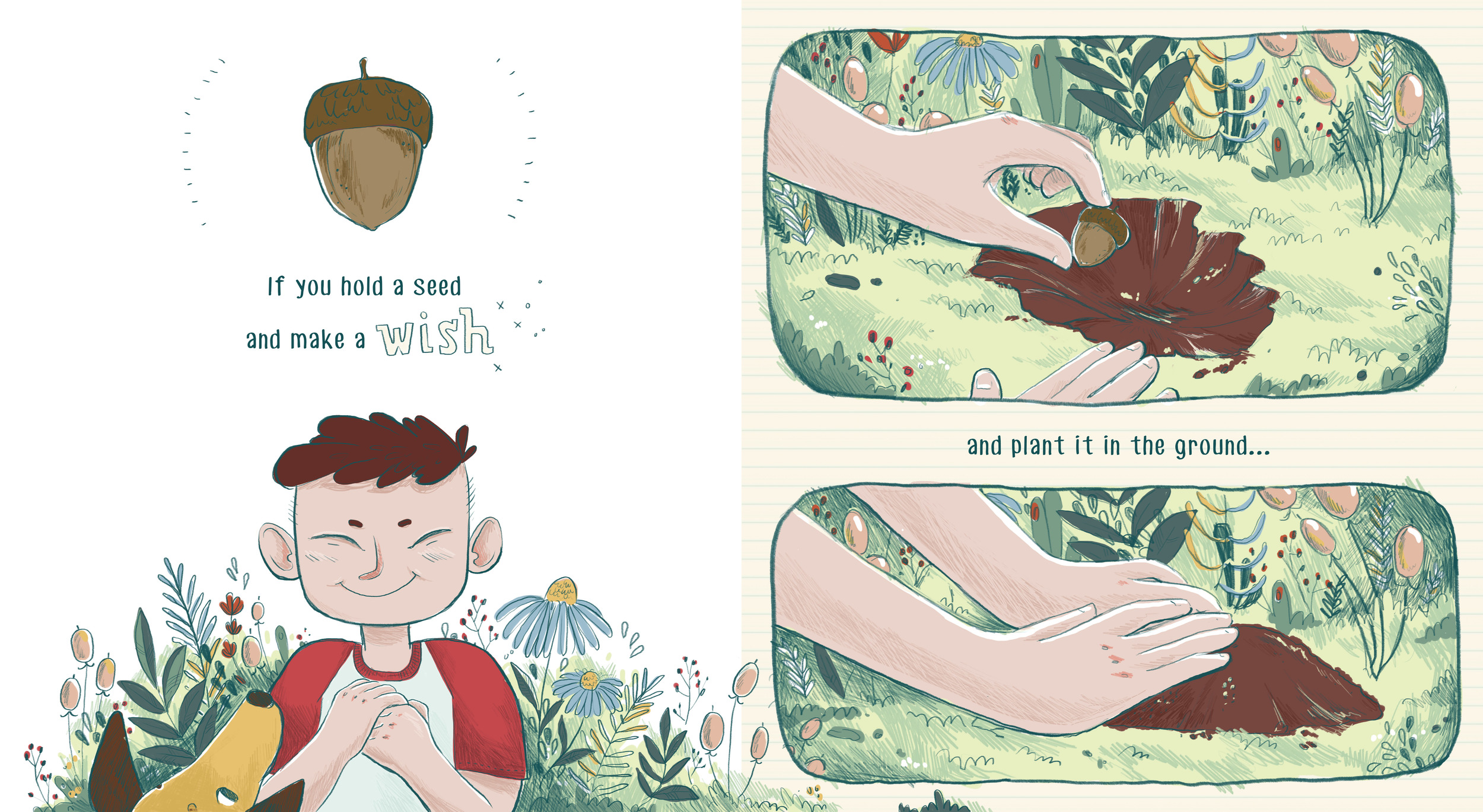 IF YOU HOLD A SEED   Originally written and illustrated my Ella MacKay