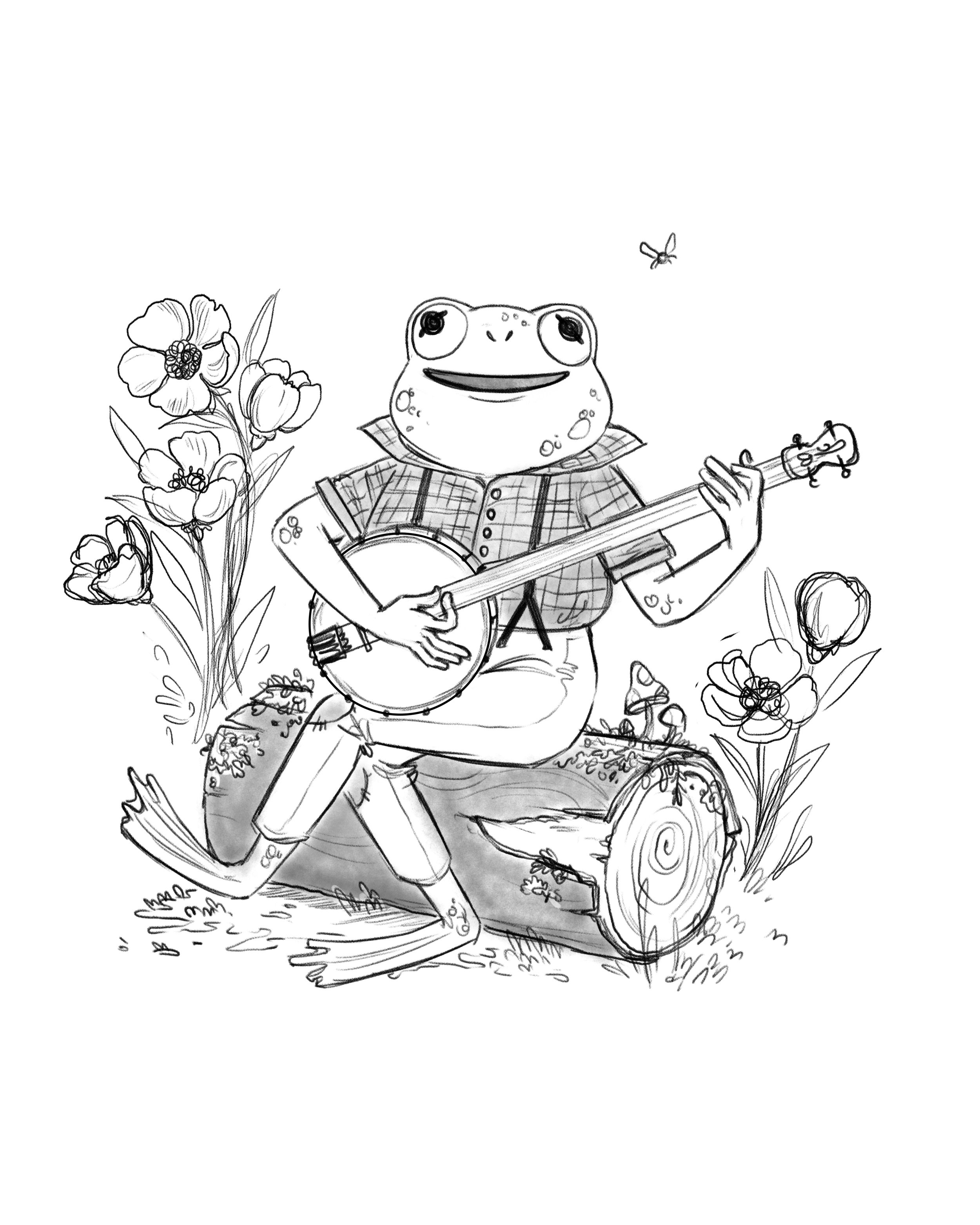 FROG TUNE   sketch