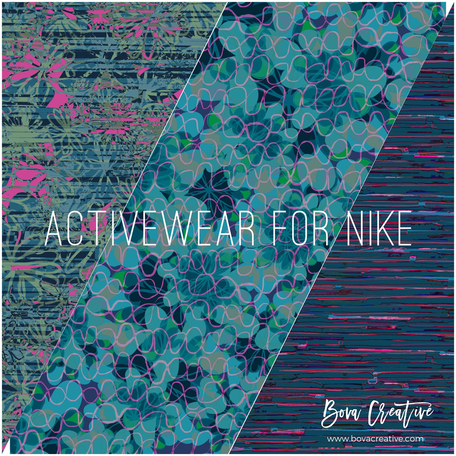 Bova Creative recent work for Nike Activewear