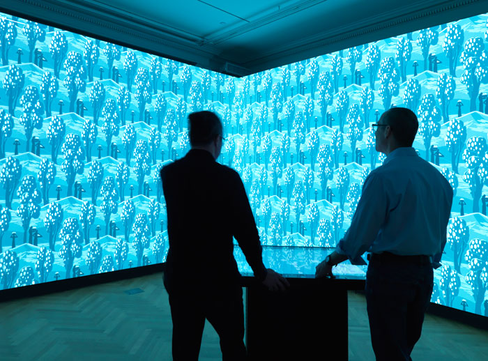 The Cooper Hewitt's Immersion Room