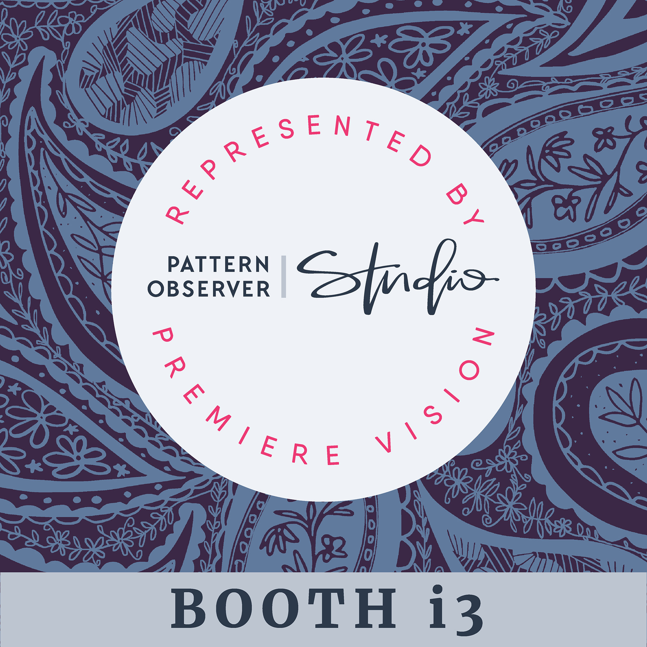 Bova Creative represented by Pattern Observer Studio at Premiere Vision 2019