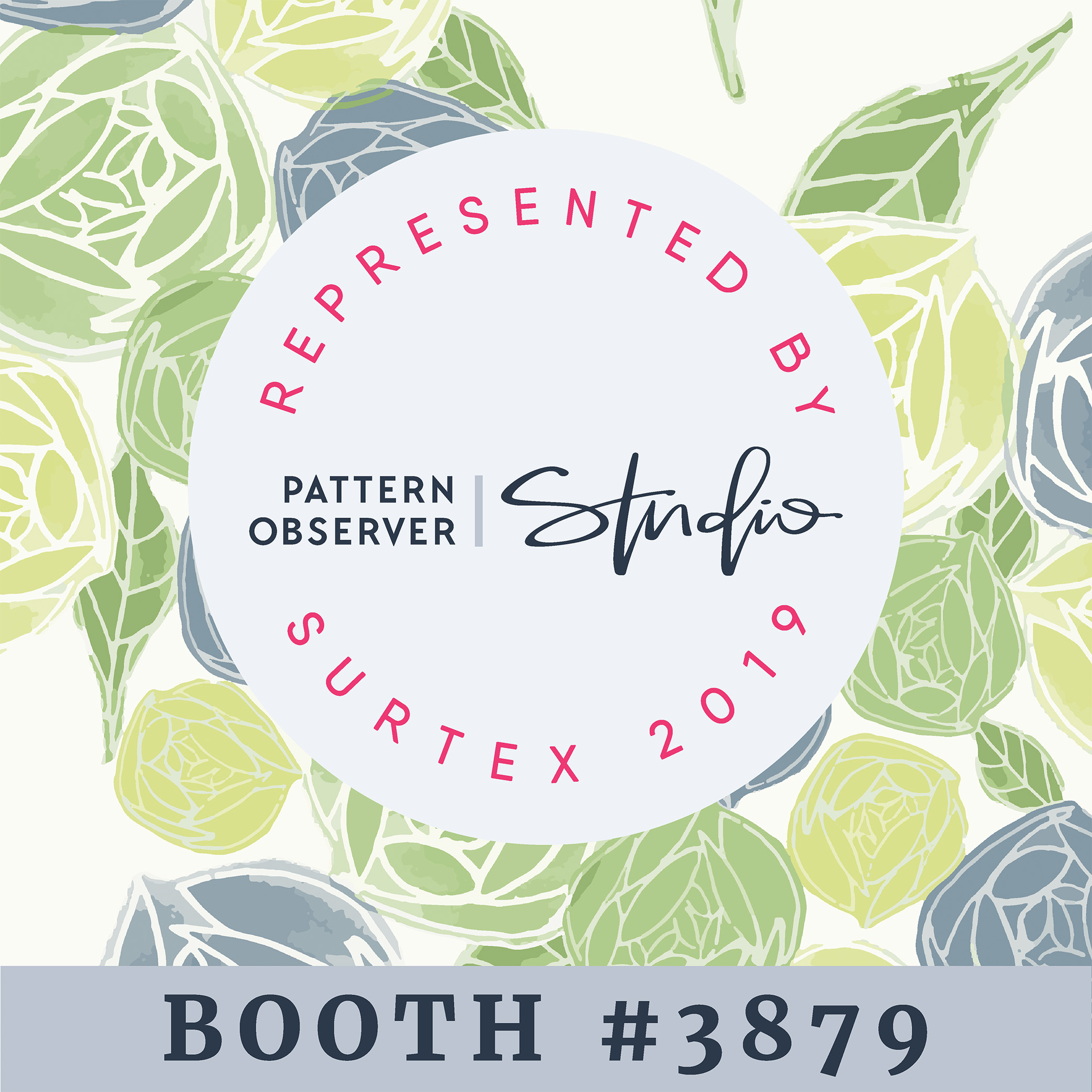 Bova Creative Patterns at Surtex with Pattern Observer Studio