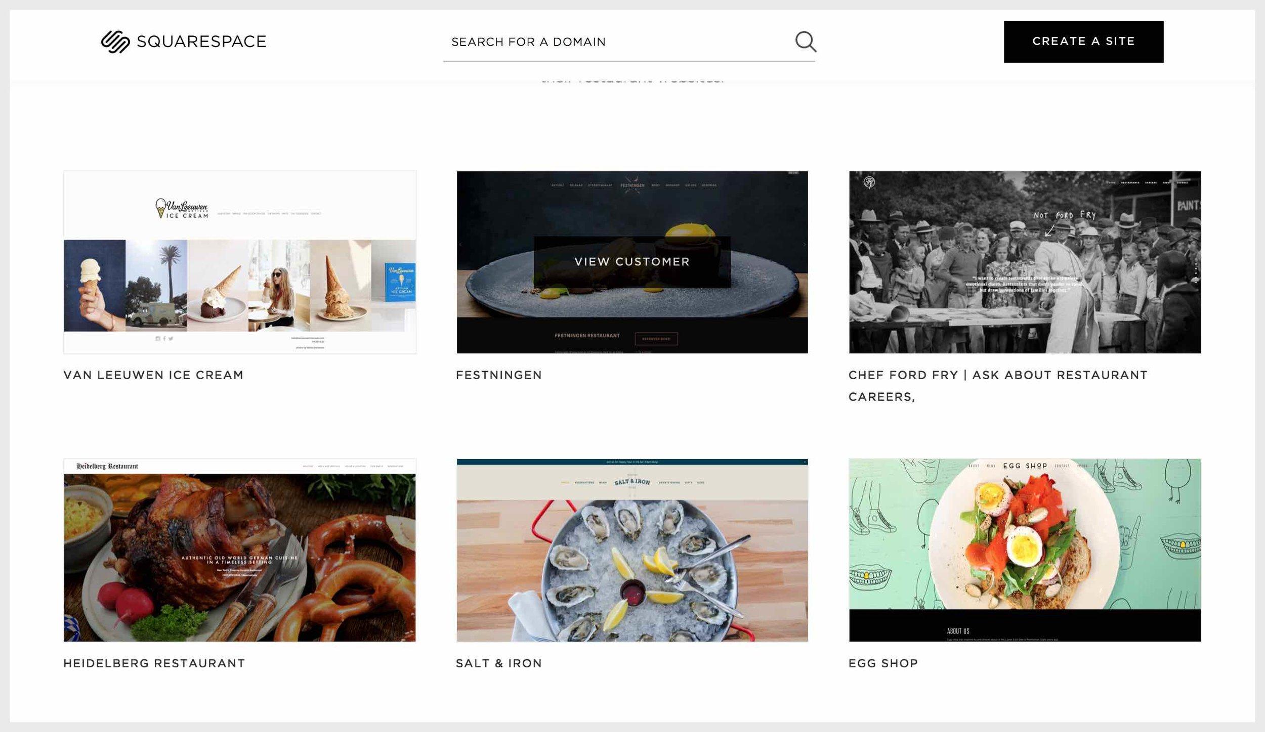 squarespace-customer-sites