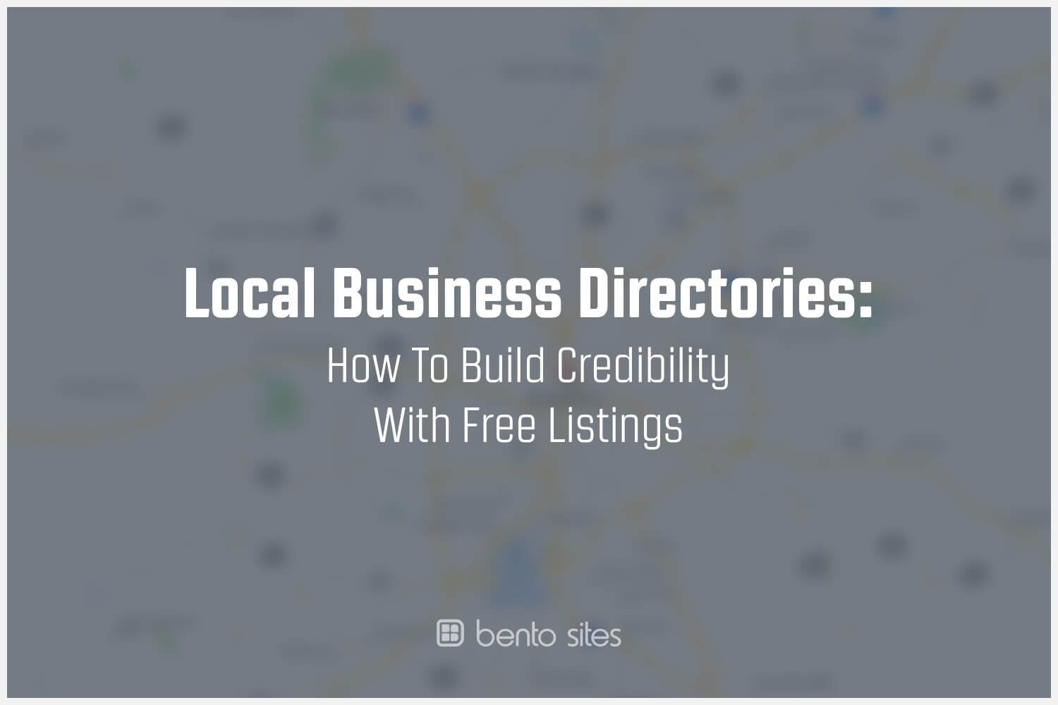 Local Business Directories: How To Build Credibility With