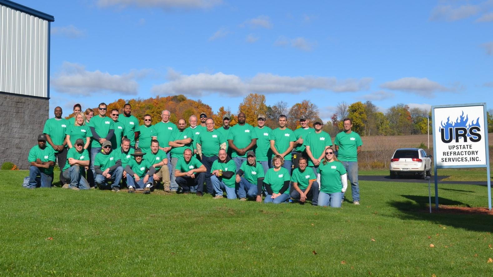 Employee Group Photo on Safety Day, November 2016