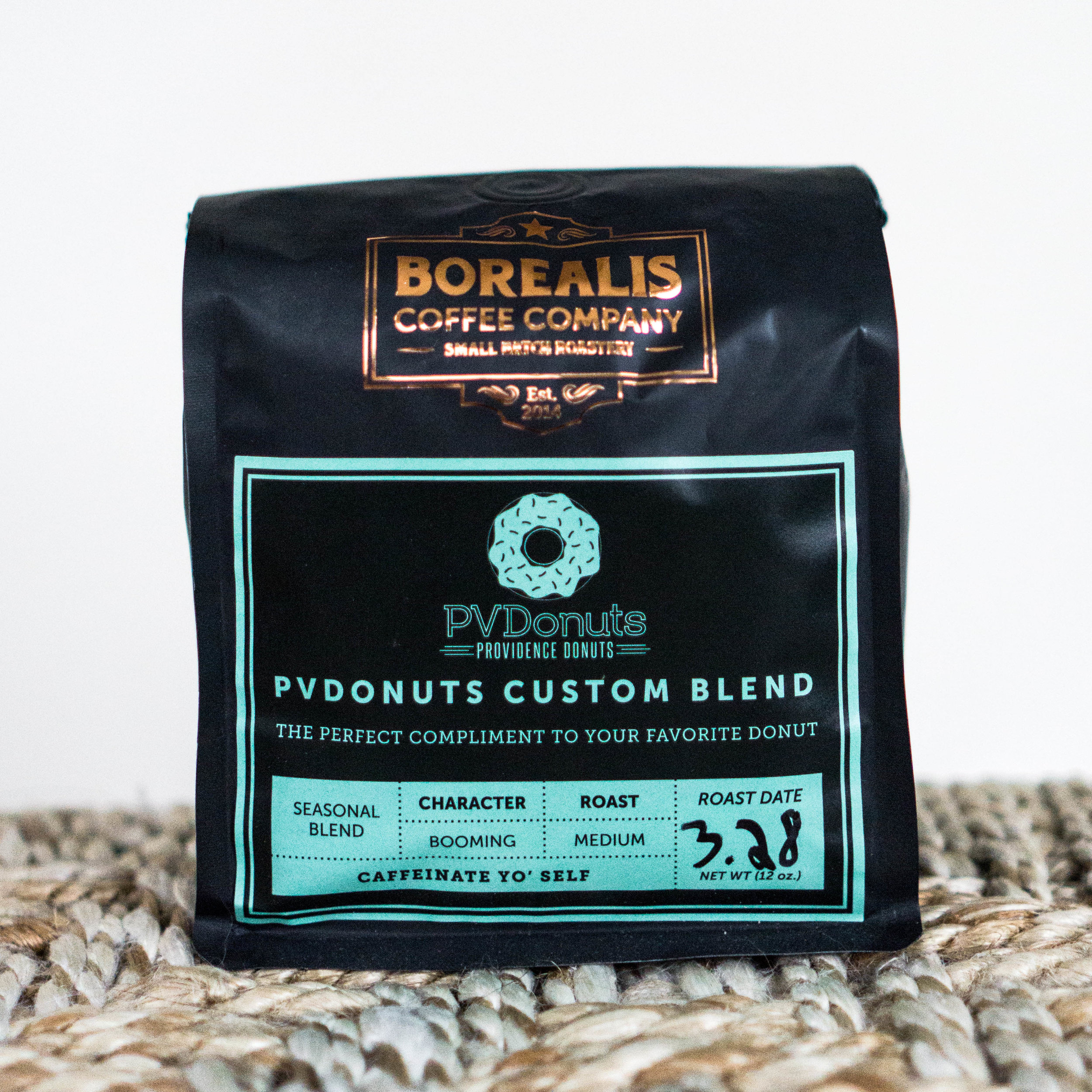 Borealis X PVDonuts Custom Blend - $16