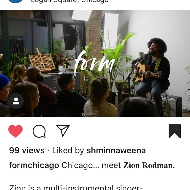Repost from @formchicago. Have y'all seen my performance from @formchicago yet? They did a great job and made me look awesome. Link is in my bio!!