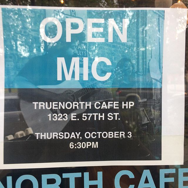 Next open mic! I put some flyers up in real life but here is a virtual one. Sing me your spookiest October tunes.