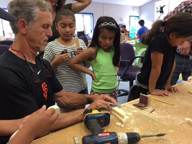 Great news! - TinkerTech is joining forces with Marin Science teacher Brian Kaplan to offer even more great STEM classes to the students in Marin. With his 25 years in carpentry and 13 years in teaching including setting up the makerspace at San Domenico school, Brian is excited to take his skills on the road with a MOBILE MAKER VAN. Brian will be teaching some of TinkerTech's new Invent and Code classes from the van, as well as helping train new teachers.