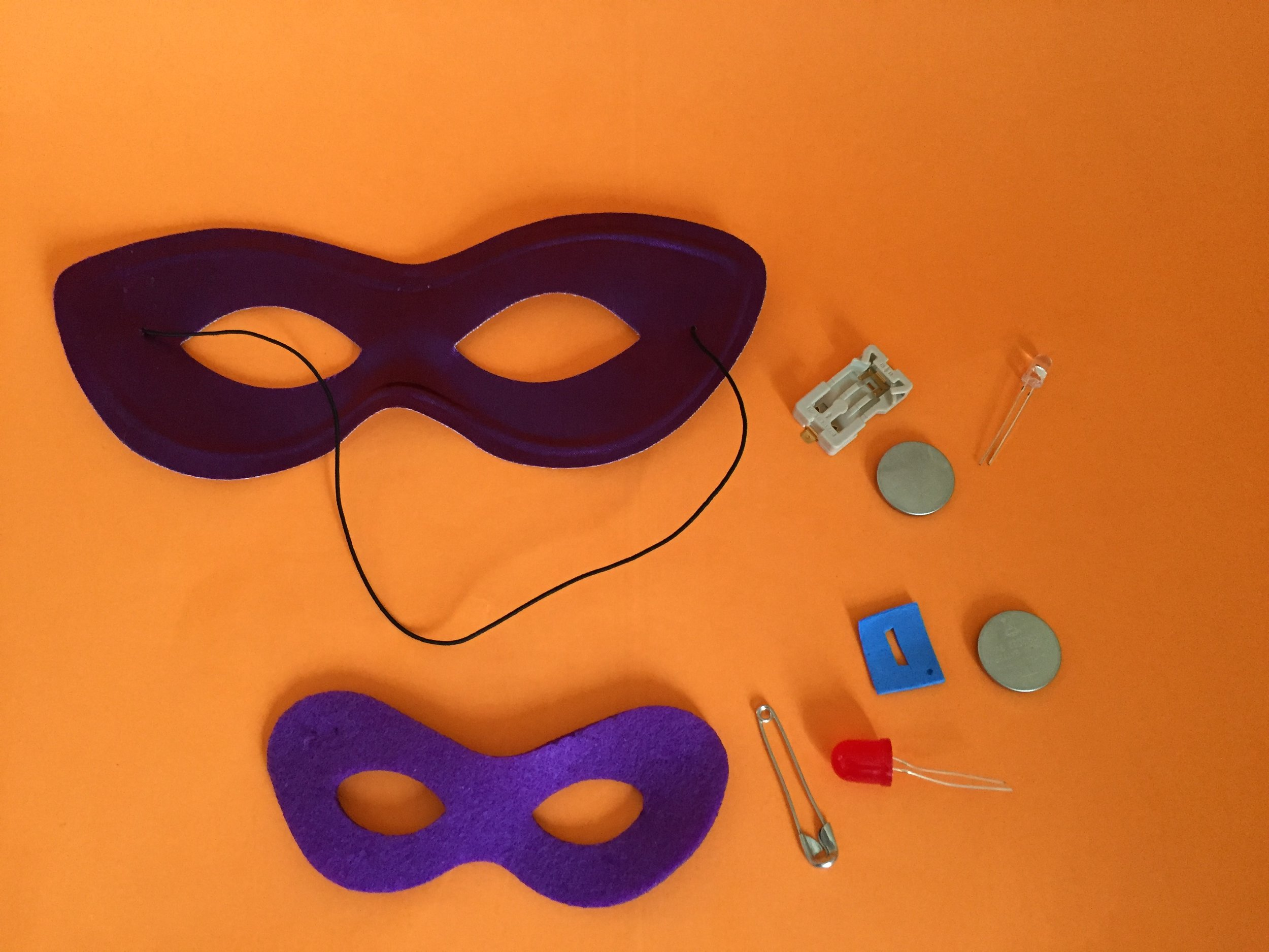 So all Superheroes need a mask...