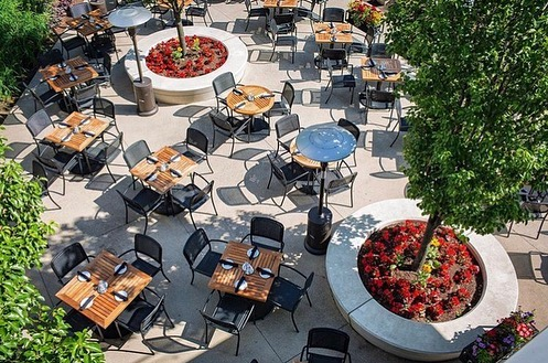Gibson's Italia has been a favorite downtown hub for our team since it opened, now we will officially be able to call it our local hangout. pics via @gibsonsitalia . . . #whitneyarchitects #123NWacker #citylife #chicagolove #windycity  #GibsonsItalia #hospitality #officedesign #chicagoriver #chicagofood #interiordesign